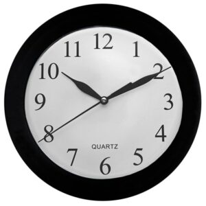 buy Frosted 25cm Wall Clock