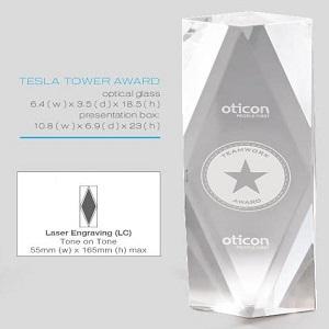 buy Tesla Tower Award