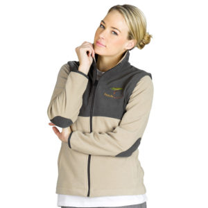 buy Ladies Benneton Zip-Off Fleece Jacket