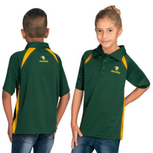 buy Biz Collection Kids Splice Golf Shirt