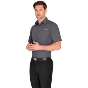 buy Biz Collection Mens Short Sleeve Metro Shirt