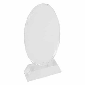 buy Oval Crystal Trophy