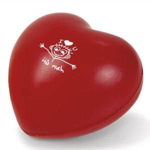 Feel-The-Love Stress Buster heart stress ball