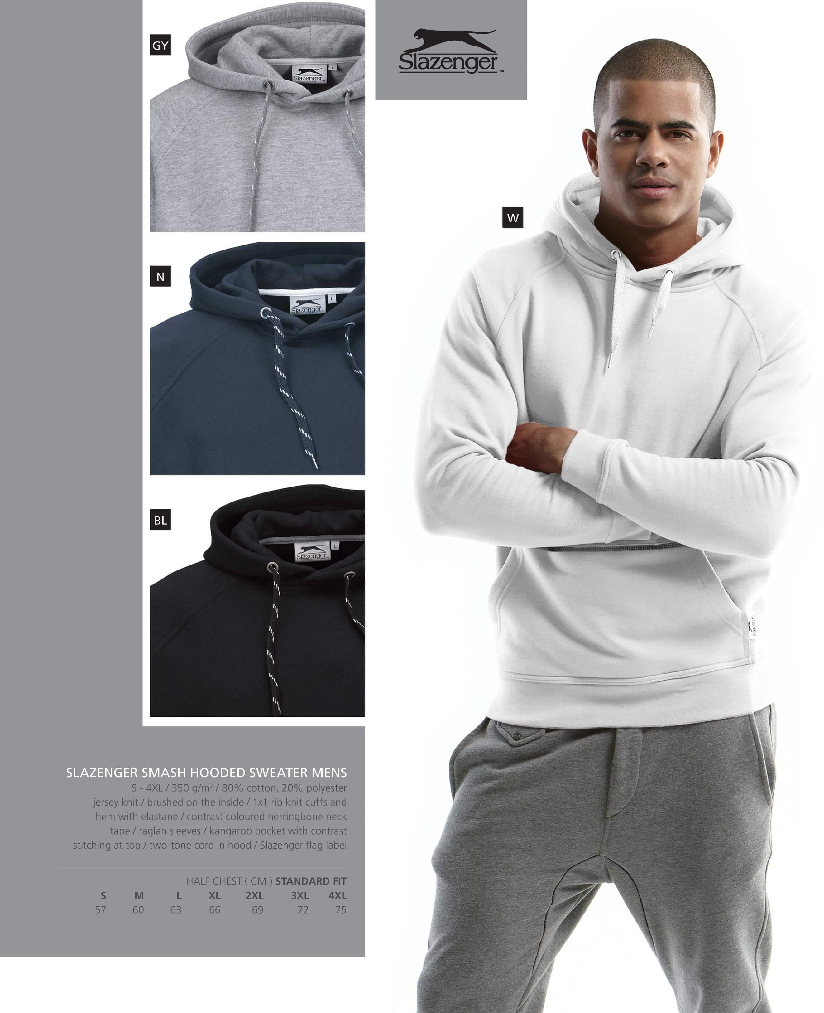 67358748d8 Slazenger - Smash Hooded Sweater - MEN » The Promo Group