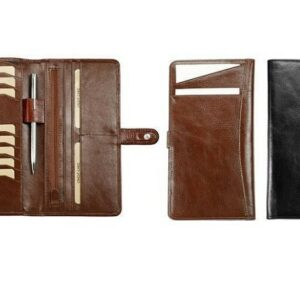 buy Adpel Italian Leather Slimline Travel Wallet