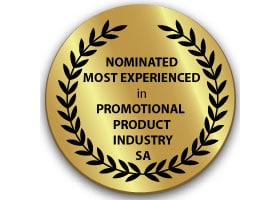 Nominated Most Experienced in the Promotional Product Industry