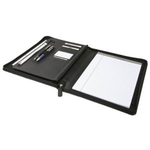 buy A4 Zip Around Folder with Writing Pad