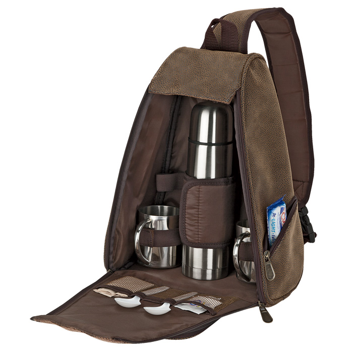 buy Out of Africa Sling Bag Coffee Set