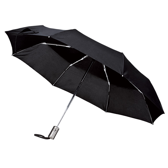 buy Auto-Open Compact 3 Fold Umbrella