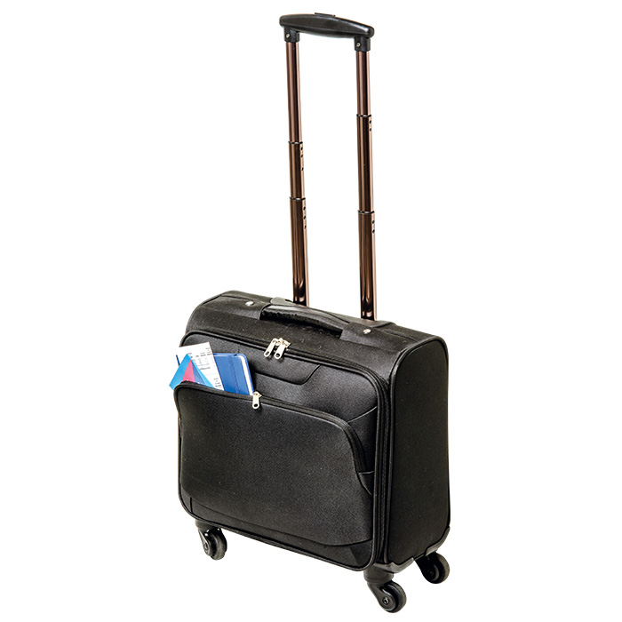buy 600D Laptop Trolley Bag with Four Wheels