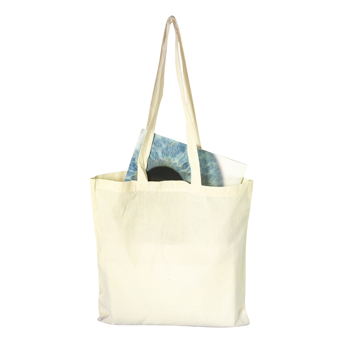 buy Cotton Shopper with Long Handles