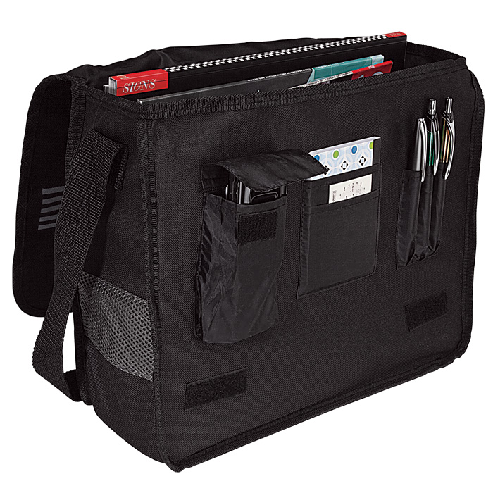 buy Messenger Bag with Mesh Trim - 600D