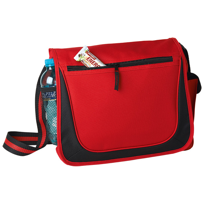 buy Messenger Bag with Coloured Stripe Strap