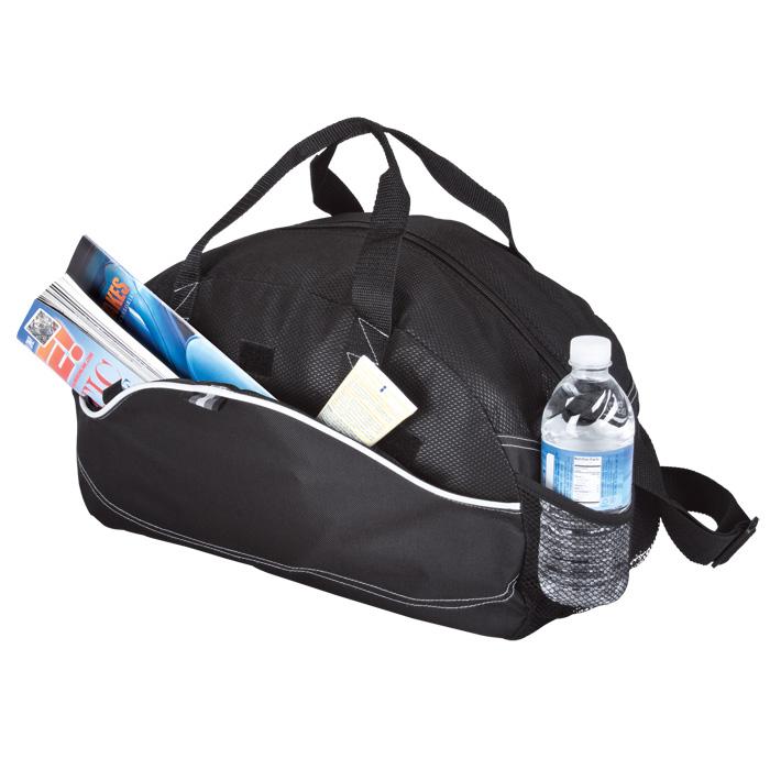 buy Dual Material Duffel Bag - 600D - Non-Woven