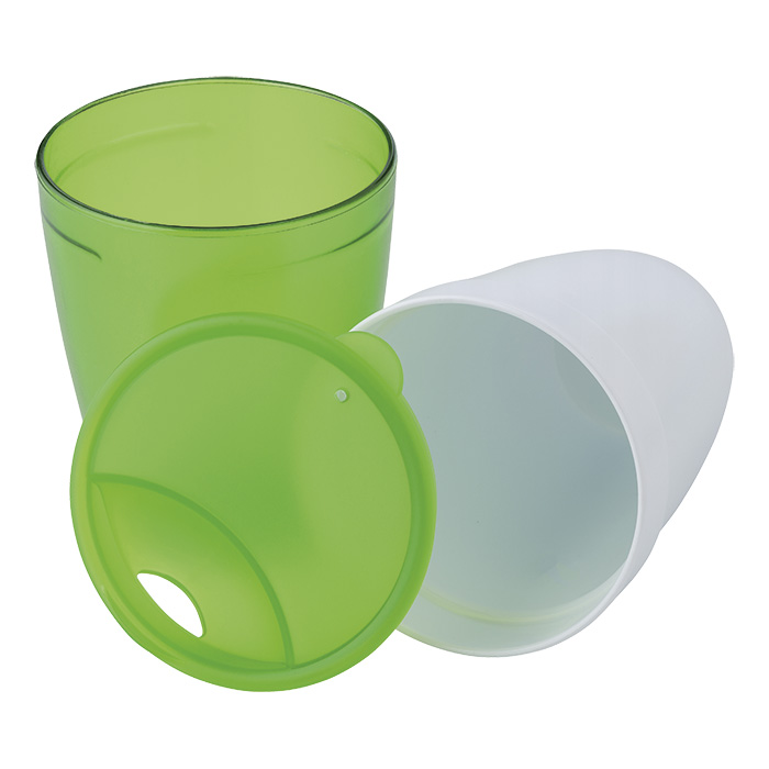buy 2 in 1 Plastic Mug