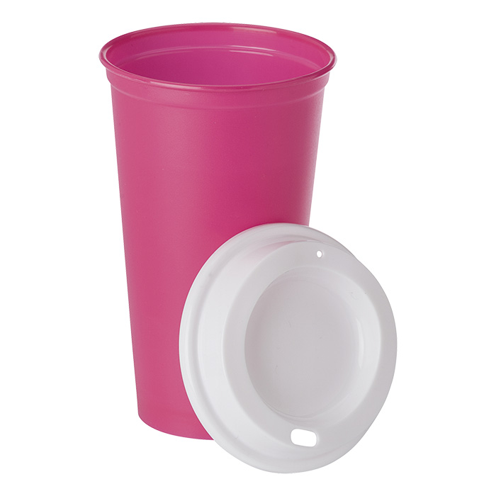 buy 520ml Plastic Mug with Lid