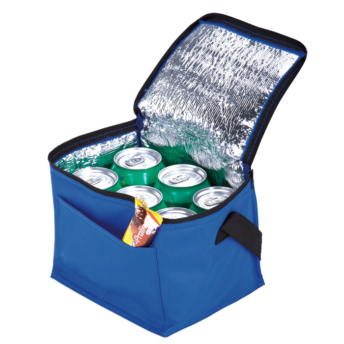 buy 6 Can Cooler with Foil Liner and Pocket