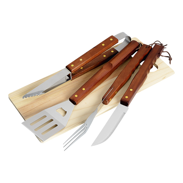 buy 4 Piece Braai and Cutting Board Set
