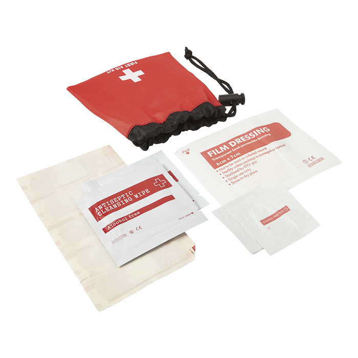 buy 11 Piece First Aid Kit in Drawstring Pouch