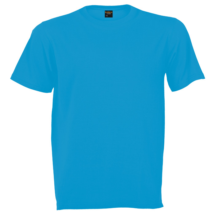 buy 170g Barron Combed Cotton Crew Neck T-Shirt