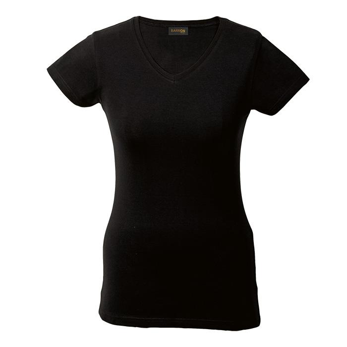 buy Ladies 170g Slim Fit V-Neck T-Shirt