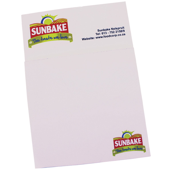 Business card fridge magnet notepad the promo group business card fridge magnet notepad colourmoves
