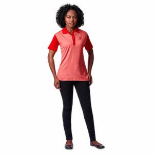 buy Ladies Crossfire Melange Golf Shirt