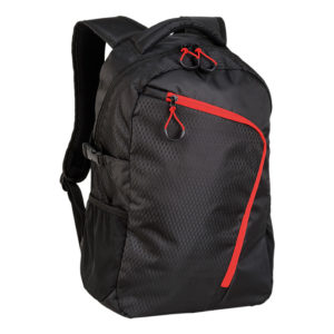 buy Backpack with Curved Contrast Zip