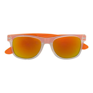 buy Mirror Finish Sunglasses with Coloured Sides