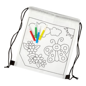 buy Kids Colouring in Drawstring Bag