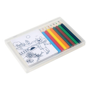 buy Colouring in Set in Plastic Case