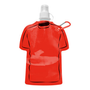 buy 320ml Shirt Shaped Foldable Water Bottle