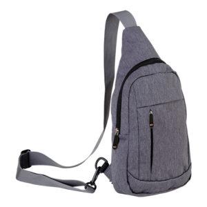 buy Melange Shoulder Bag with Front Pocket