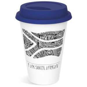 "buy Andy Cartwright ""I Am South African"" Tumbler"