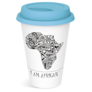"buy Andy Cartwright ""I Am African"" Tumbler"