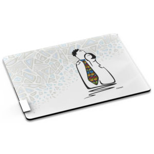 buy Andy Cartwright Miss Smarty Pants Glass Serving Board