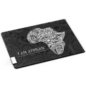 "buy Andy Cartwright ""I Am African"" Glass Serving Board"