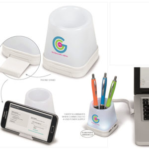 buy Luminate 3-In-1 Desk Caddy
