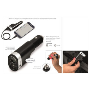 buy Blacktop 5-In-1 Car Tool & 2200mAh Power Bank