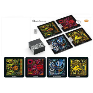 buy Andy Cartwright I Am South African Glass Coasters