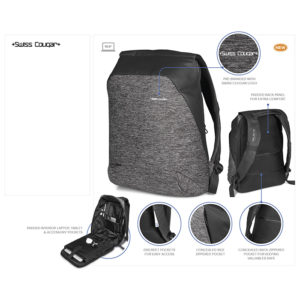 buy Swiss Cougar Equity Tech Backpack