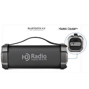 buy Swiss Cougar Chicago Bluetooth Speaker & Fm Radio