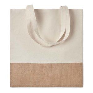 buy Cotton Jute Shopper Bag