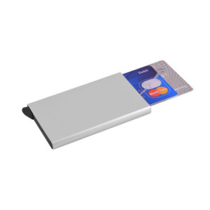 buy Aluminium Auto Pop-Up Card Holder