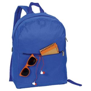 buy Arch Design Backpack with Zippered Front Pocket