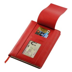 buy A5 PU Notebook with Flip Up Front Panel
