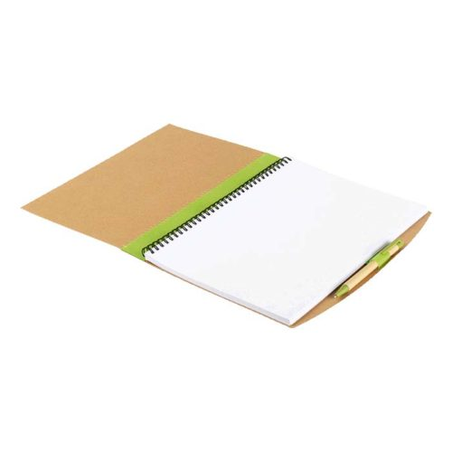 buy Recycled Cardboard Notebook with Pen