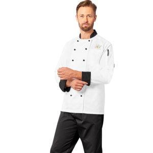 buy Unisex Long Sleeve Toulon Chef Jacket