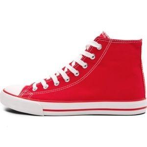 buy Printable - Unisex Retro High Top Canvas Sneaker