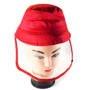 buy Kiddies Protective Face Shield Hat